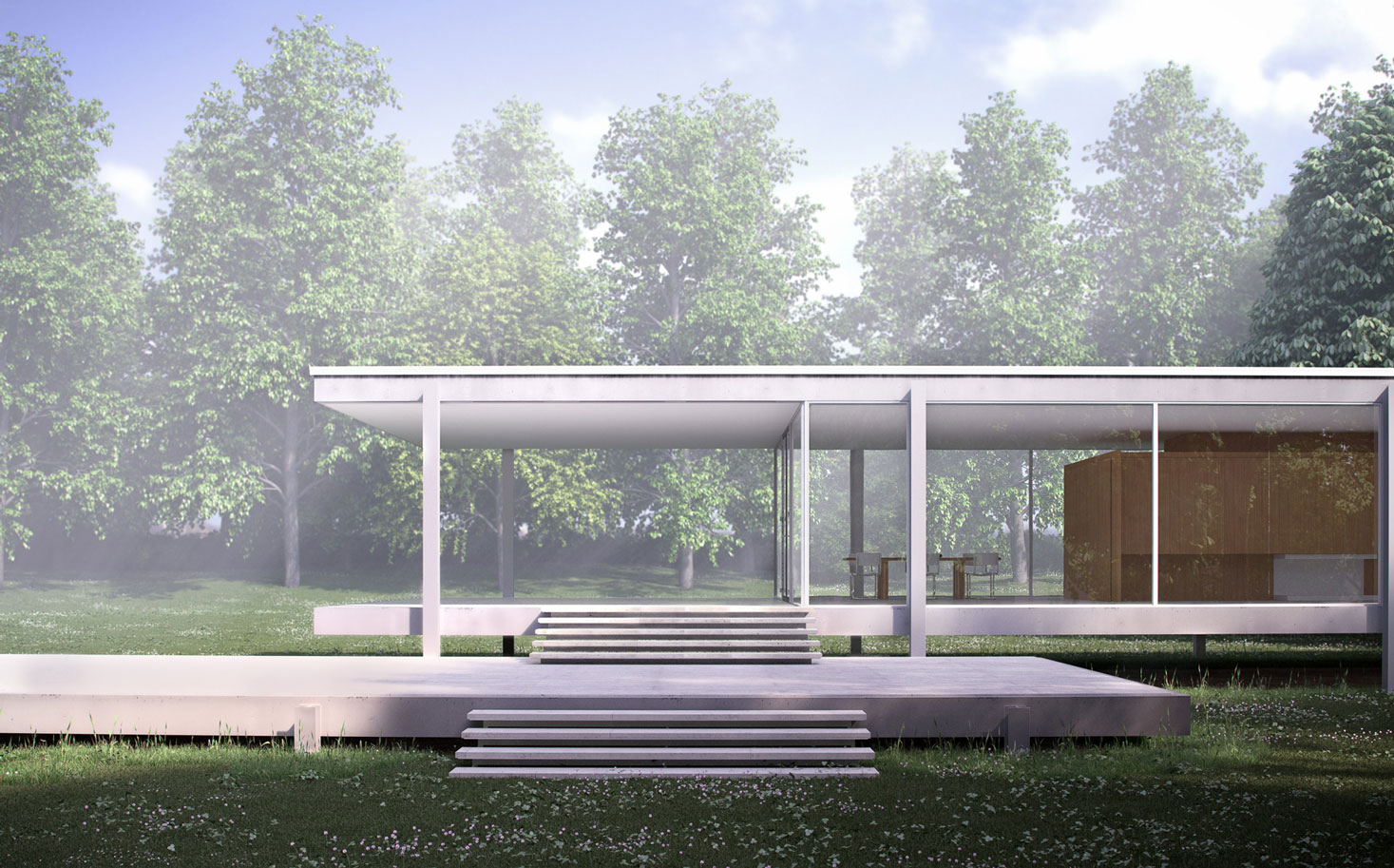 visual eyes media farnsworth house